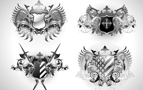 500x317 Free And Attractive Vector Shields For Designers Designbeep