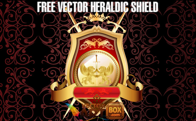 650x402 Vector Heraldic Shield