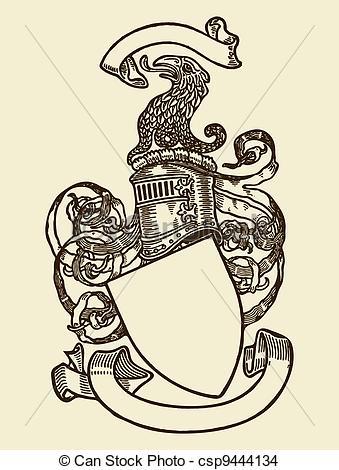 339x470 Heraldry Shield. Heraldry Shield.