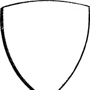 300x300 Bouche Shield Is A Curvy Bouche Heraldic Shield Vector Shopatcloth