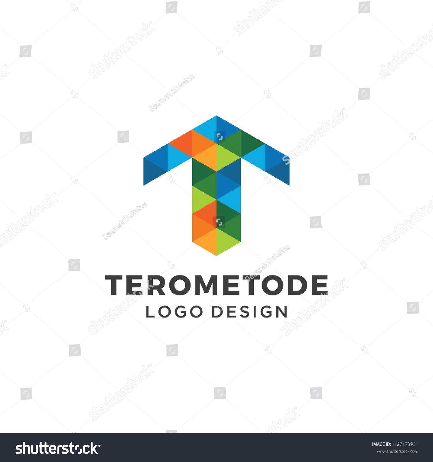 1500x1600 Letter T Logo Design. T, Geometric, Hexagon, Vector, Modern
