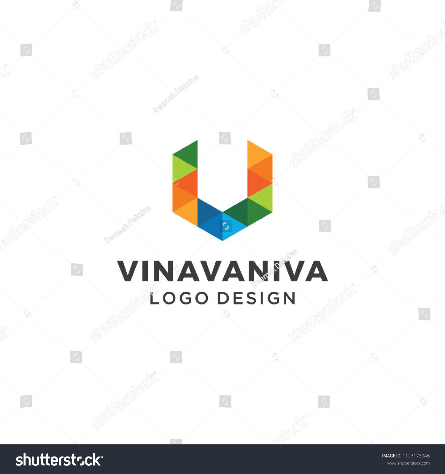 1500x1600 Letter V Logo Design. V, Geometric, Hexagon, Vector, Modern