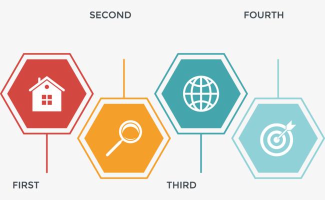650x400 Vector Creative Design Diagram Hexagon Data Directory, Hexagon