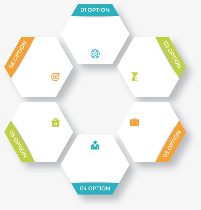 650x678 Vector White Hexagon Creative Design Diagram Directory, Hexagon