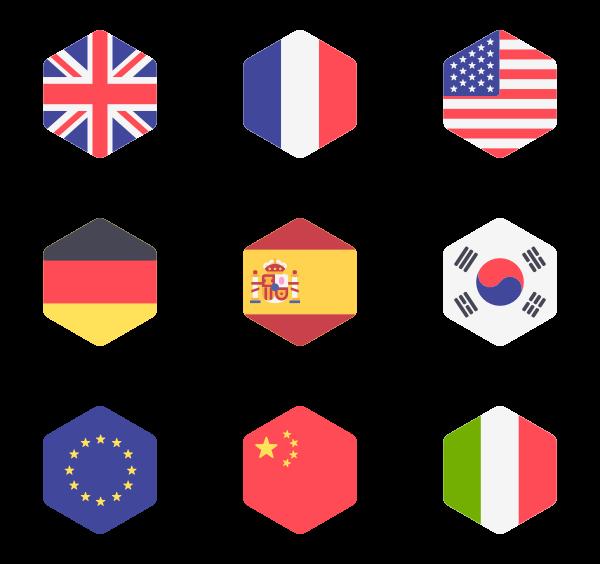 600x564 Hexagon Icons