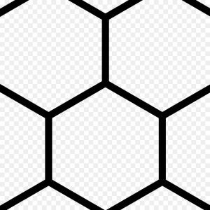 300x300 Hexagon Patterns Futuristic Pattern Tech Backgrounds Orangiausa