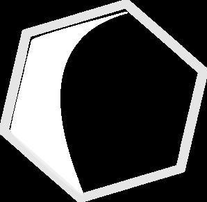298x291 Hexagon Trans Clip Art