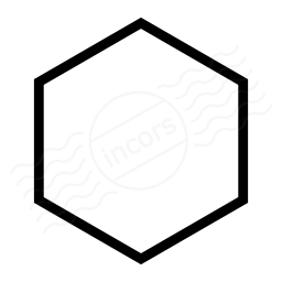 256x256 Iconexperience I Collection Shape Hexagon Icon