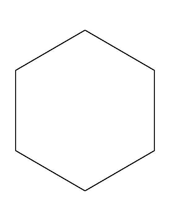 550x712 Pattern Clipart Hexagon