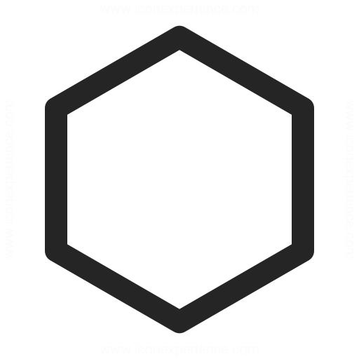 512x512 Shape Hexagon Icon Iconexperience
