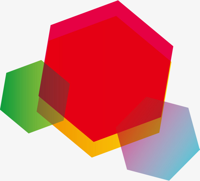 650x588 Simple Hexagon Vector, Colorful, Fashion, Hexagon Png And Vector