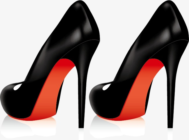 650x481 Women High Heels Vector Material Bag Design,, Women High Heels
