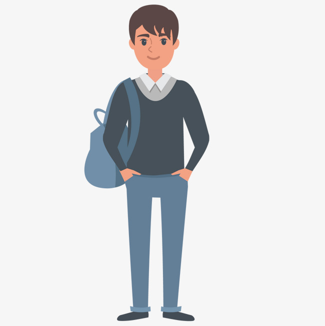 650x651 Backpack Of High School Students, School Clipart, Backpack, High