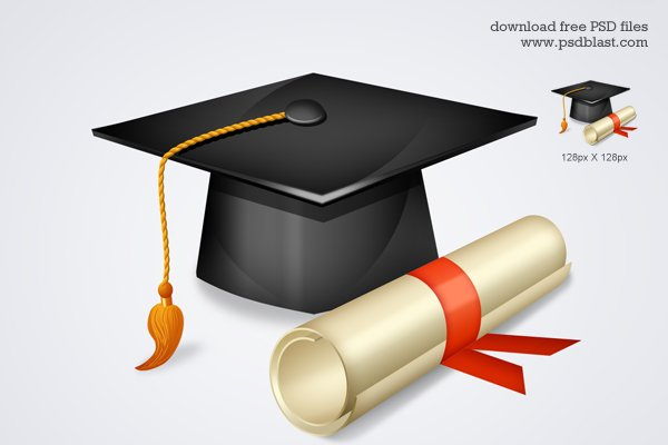 600x400 Free Free High School Graduation Icon Psd Files, Vectors