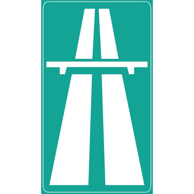 660x660 Highway Vector Road Sign