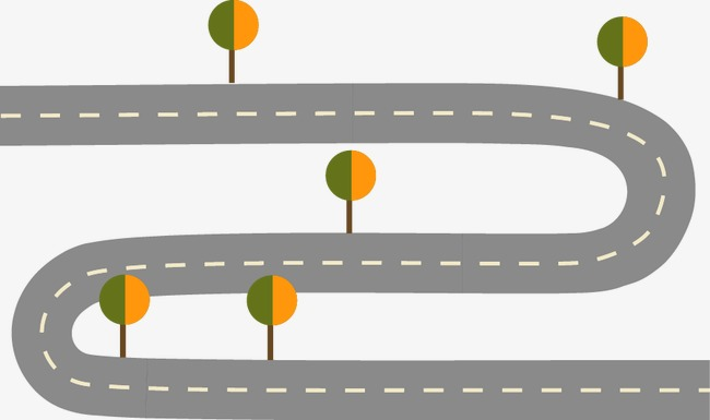 650x385 Highway, Cartoon, Tree, Highway Vector Png And Vector For Free