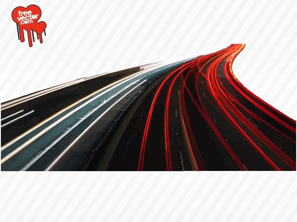 1024x765 Busy Highway Vector Art Amp Graphics