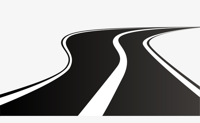 650x400 Vector Winding Road, Vector Road, Highway, Vector Road Png And