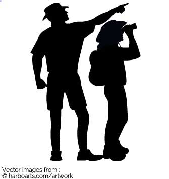335x355 Download Hiking Exploring Silhouette