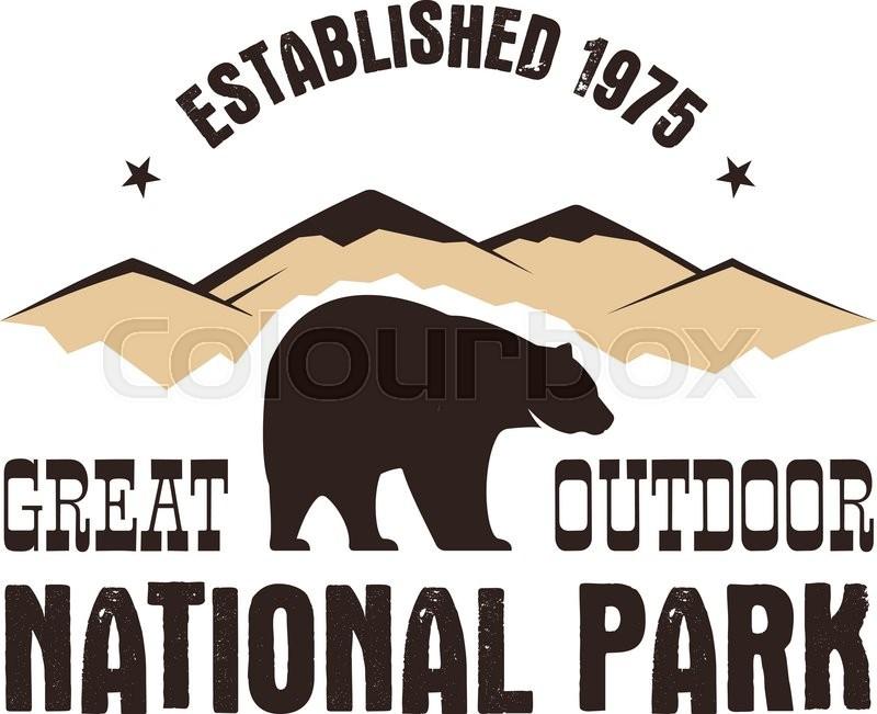 800x651 National Park Retro Style Badge. Mountain Explorer Label. Outdoor
