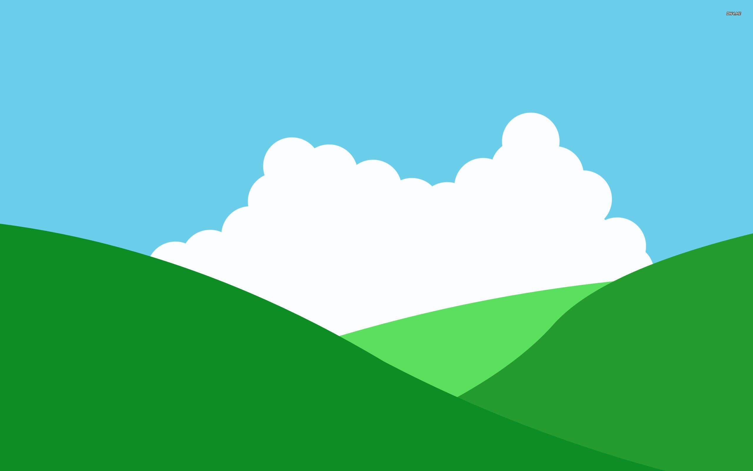 2560x1600 Hills Wallpaper