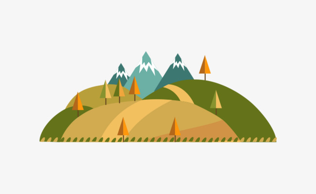 650x400 Small Hill Vector Material, Vector, Hill, City Png And Vector For
