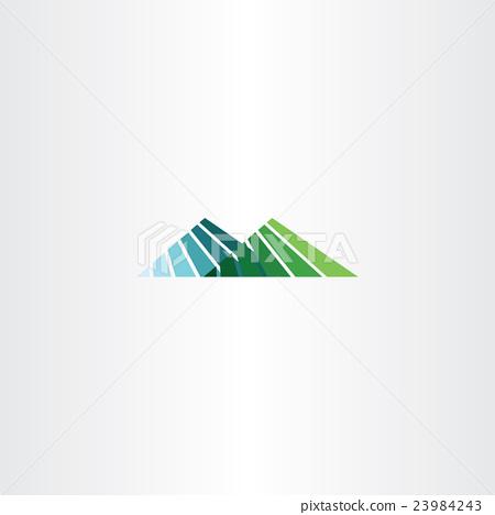 450x468 Mountain Hill Vector Logo Icon Sign