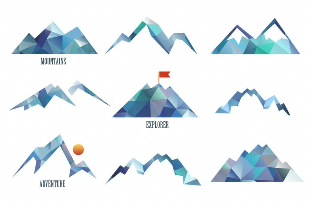 1024x681 Triangle, Rock, Isolated, Hill, Vector, Sign, Simple, Gray, Shape