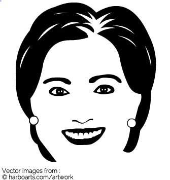 335x355 Download Hillary Clinton Simple