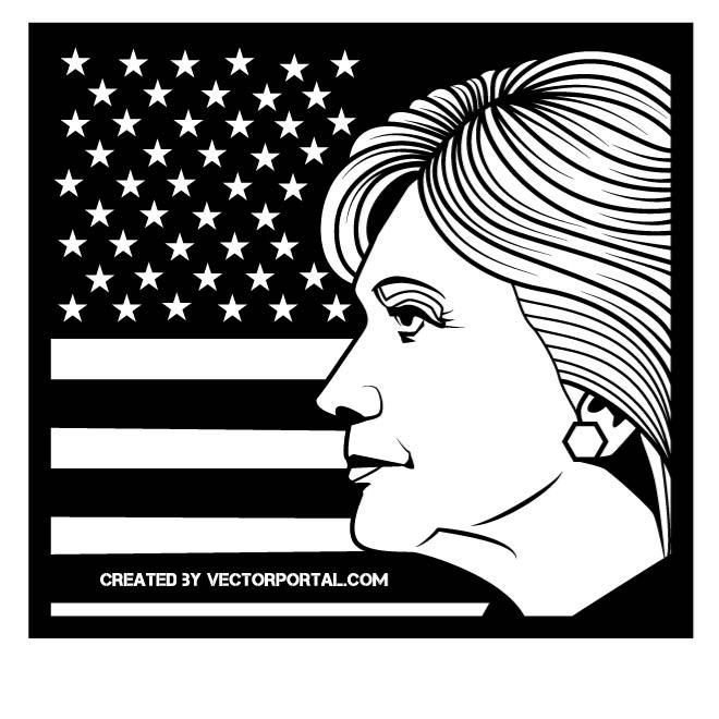 660x660 Free Hillary Clinton Vectors 6 Downloads Found