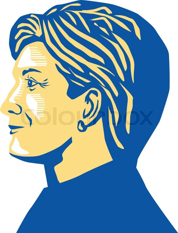 612x800 Illustration Showing Democratic Party Presidential Candidate For