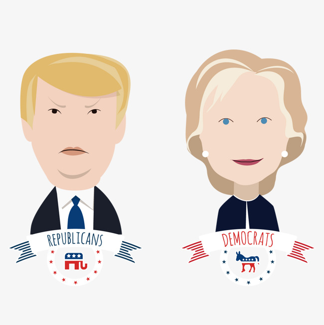 650x651 Vector Us President, Chuanpu, Hillary Clinton, Campaign Png And
