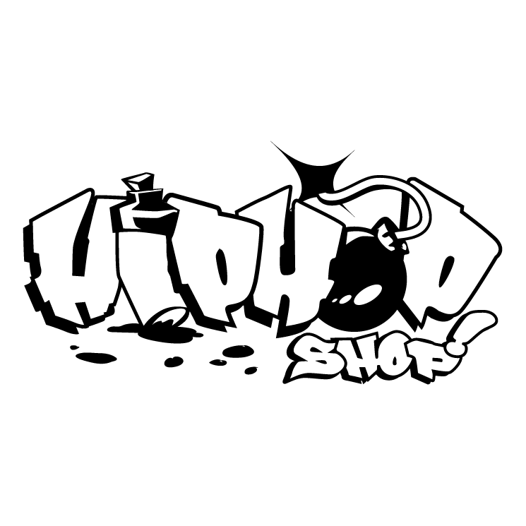745x745 Hip Hop Shop Free Vector 4vector