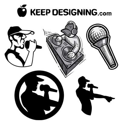 406x411 Keep Designingvector Art Free Clip Art Urban Hiphop Vector