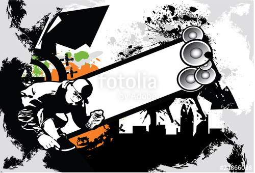 500x340 Hip Hop Background Stock Image And Royalty Free Vector Files On