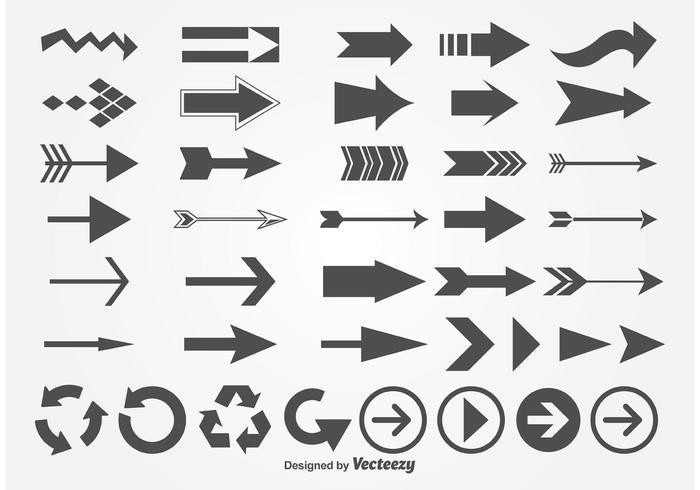 700x490 Arrow Free Vector Art