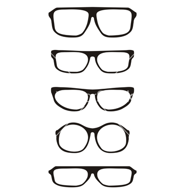 380x400 Hipster Glasses Drawing Clipart Panda