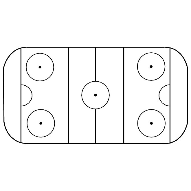 660x660 Ice Hockey Rink Free Vector Image