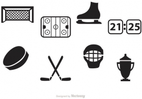 285x200 Ice Hockey Rink Icon Free Vector Graphic Art Free Download (Found