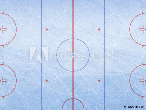 500x378 Vector Of Ice Hockey Rink. Textures Blue Ice. Ice Rink. Vector