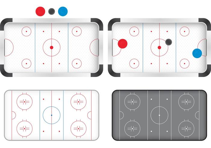 700x490 Hockey Rink Vectors