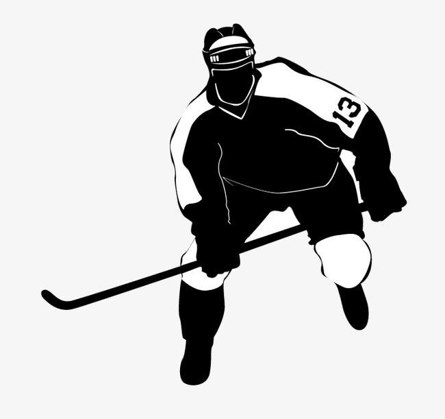 650x611 Single Row Vector Hockey Player, Single Row Hockey, Players