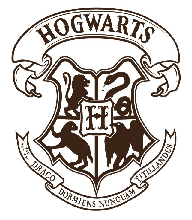 Hogwarts Crest Vector At Getdrawings Com Free For Personal Use