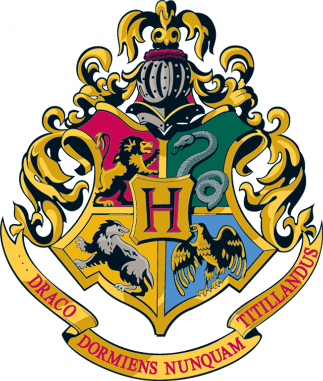 Hogwarts Crest Vector At Getdrawings Com Free For Personal