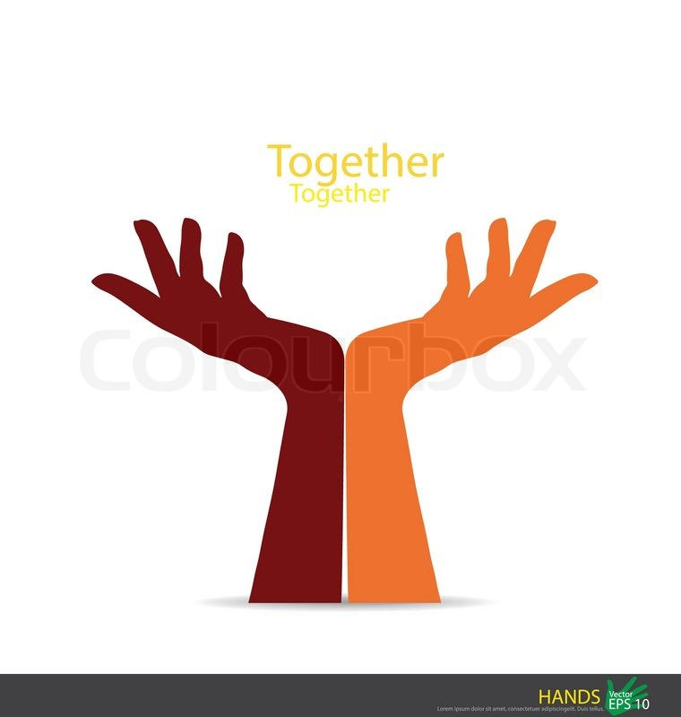 760x800 Hand Holding. Vector Eps10 Stock Vector Colourbox
