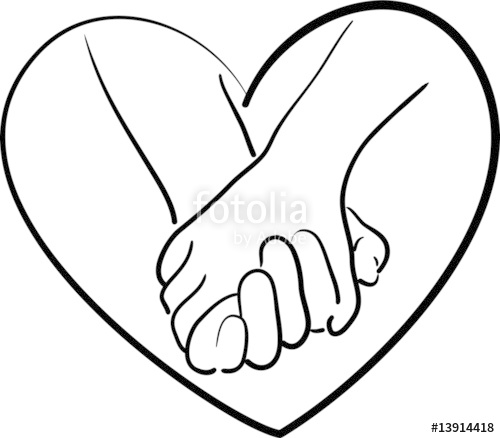 500x438 Holding Hands Stock Image And Royalty Free Vector Files On