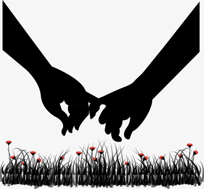 650x603 Couple Holding Hands, Couple Vectormoon, Flowers, Creative
