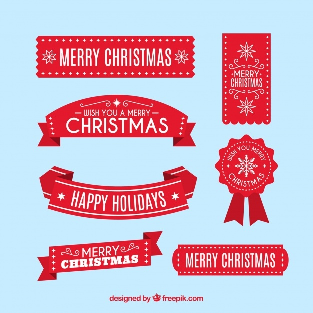 626x626 Christmas Ribbon Vectors, Photos And Psd Files Free Download