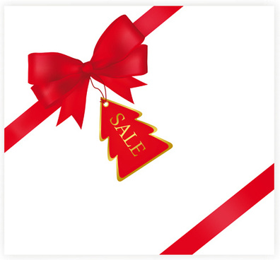 396x368 Christmas Ribbon Free Vector Download (10,571 Free Vector) For
