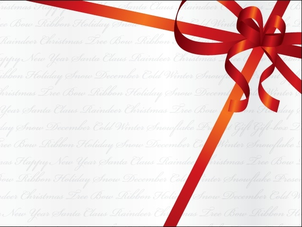 600x451 Holiday Ribbon Free Vector In Encapsulated Postscript Eps ( .eps